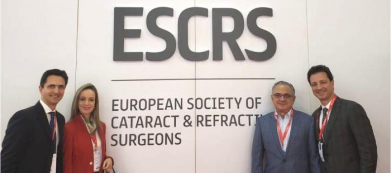 Oftalmologistas no 36º ESCRS